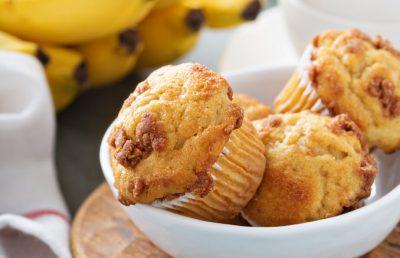 מאפינס שיבולת שועל ובננה