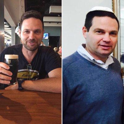 לפני ואחרי דיאטת הרזיה